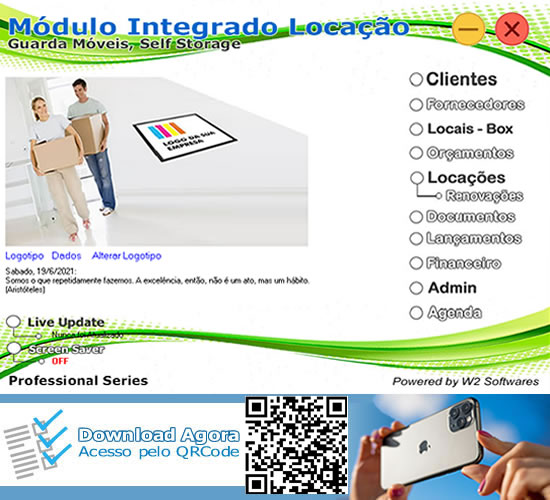Software Guarda Móveis Software Self Storage